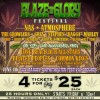 BLAZE 'N' GLORY Festival 4 Pack Ticket Special Friday May 13