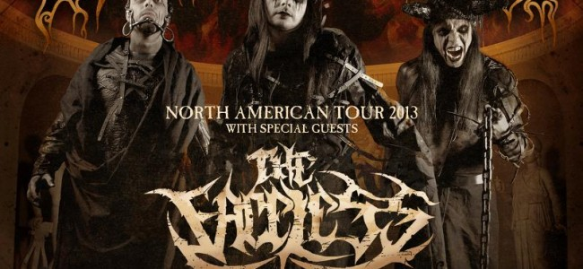 """Cradle of Filth announces headlining """"North American Tour 2013"""" with The Faceless, Decapitated and The Agonist"""
