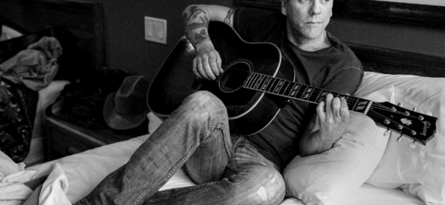 """Kiefer Sutherland Premieres New Video Ahead of """"Not Enough Whiskey"""" Tour"""