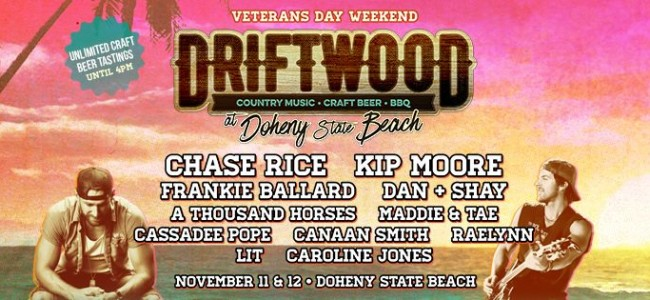 Top 10 Reasons to Attend Driftwood Festival – Country Music & Craft Beer – 11/11 & 11/12
