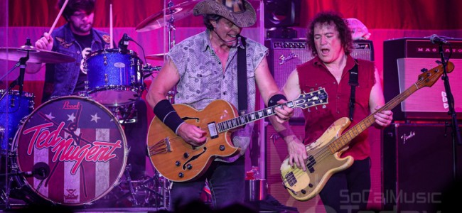 Ted Nugent @ The Coach House – 07/23/2019