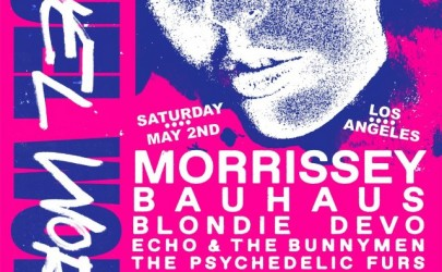 Cruel World Festival Announced with Morrissey, Bauhaus and more