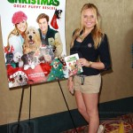 4 October 2012 - Los Angeles, California - Alli Simpson. 12 Dogs of Christmas: Great Puppy Rescue Sneak Preview. Photo Credit: © Paul A. Hebert / www.PaulhebertPhoto.com
