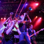 Suburban Legends perform at The House of Blues in Anaheim, CA on December 13, 2012