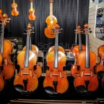Violin Display - NAMM 2013