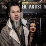 Wayne Static and Tera Wray - NAMM 2013