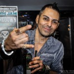 Jose Mangin from SiriusXM radio - NAMM 2013