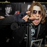 Marten Andersson from Lizzy Borden - NAMM 2013