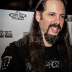 John Petrucci from Dream Theater at Ernie Ball Strings - NAMM 2013