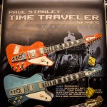 Paul Stanley series guitars display at Washburn Guitars - NAMM 2013