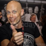 Wolf Hoffmann from Accept says hello - NAMM 2013