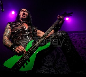 File Photo: David Vincent of Morbid Angel performs at The Fonda Theater on November 29, 2013. (photo by Chris Loomis)