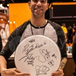 Cyrus Bolooki of New Found Glory - NAMM Day 2 2014