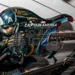 Captain America guitar - NAMM Day 2 2014