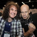 Peter Baltes and Wolf Hoffmann from Accept - NAMM Day 2 2014