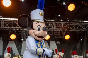 Mickey Mouse and The Disneyland Band @ GoPro Stage: NAMM 2015 -