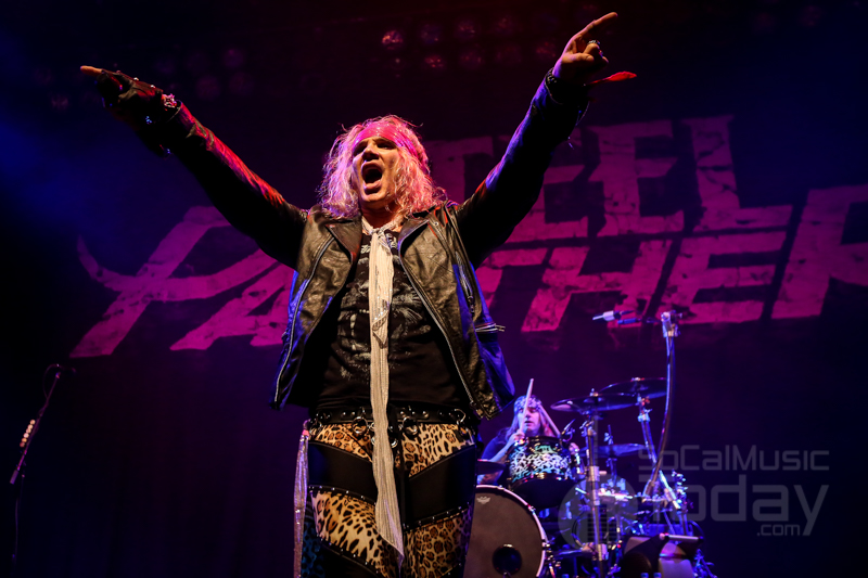 Steel Panther Tour Opening Band