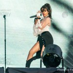 Camila Cabello performs during Taylor Swifts Reputation stadium tour at the Rose Bowl on May 18, 2018 in Pasadena, California.