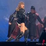 Taylor Swift performs during her Reputation stadium tour at the Rose Bowl on May 18, 2018 in Pasadena, California.